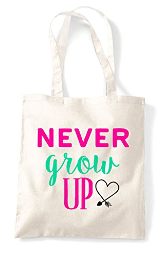 Tote Natural Up Never Grow Shopper Bag pqE6nXxw