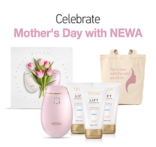 NEWA Skin Care System With Anti-aging Skin Tightening Technology For Home Facial Treatments. Triggers New Collagen Production And Reduces Wrinkles, Tightens and Lifts The Skin. ()