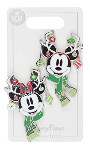 WDW Trading Pin - Nordic Holiday Winter Mickey and Minnie ()