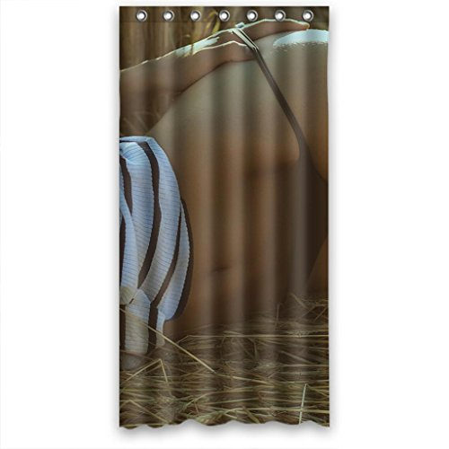 Promotion Bathroom Fabric Shower Curtain 36(W)X72(H),Sex Girld Design by Shower Curtain