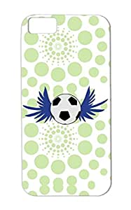 Soccer Wings Dustproof Navy Soccer Sports For Iphone 5c Case