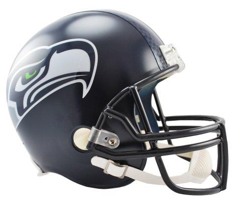 Riddell Replica Mini Baseball Helmet - Seattle Seahawks mini replica helmet by Riddell