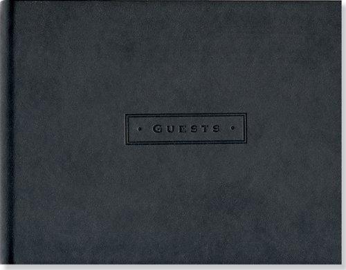 Classic Black Guest Book (Guest Book)