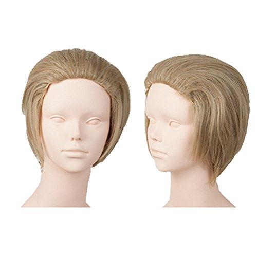 Xcoser Hetalia Germany Ludwig Beillschmidt Cosplay Short Flaxen Wig for Cosplay]()