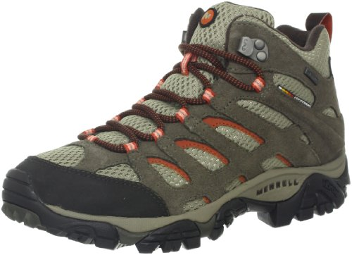 Merrell Women's Moab Waterproof Hiking Boots made our list of camping safety tips for families who RV and tent camp