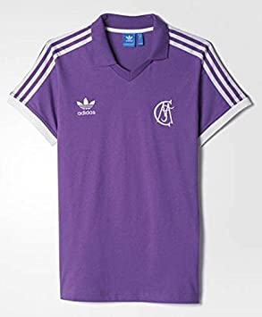 Adidas Real Madrid Retro Camiseta Visitante. Los años Ochenta: Amazon.es: Deportes y aire libre