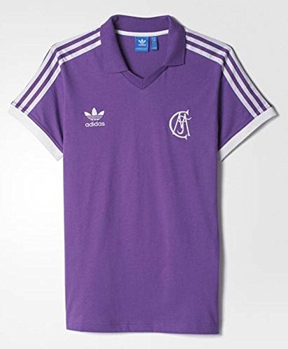adidas Real Madrid Retro Camiseta Visitante. Los años Ochenta, RAYPUR/White
