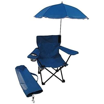 Redmon Beach Baby All-Season Umbrella Chair with Matching Shoulder Bag, Blue