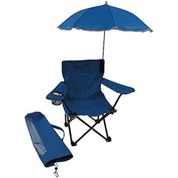 Redmon For Kids Beach Baby Kids Umbrella Camp Chair, Blue