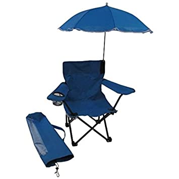Great Redmon For Kids Beach Baby Kids Umbrella Camp Chair, Blue