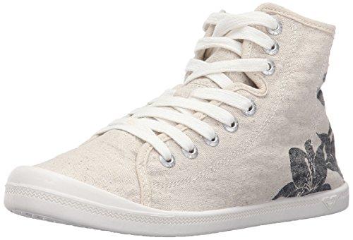 Roxy Women's Rory Mid Fashion Sneaker, Cream, 7.5 M US