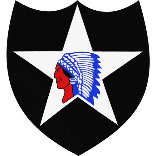 U.S. Army 2nd Infantry Division Vinyl Decal