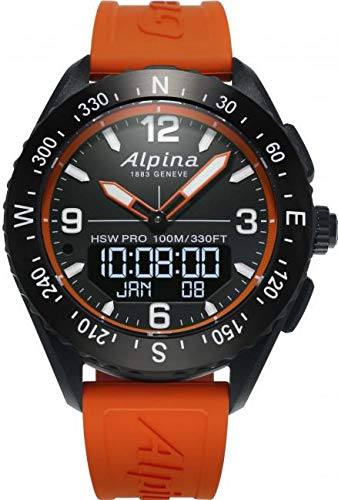 (Alpina Geneve AlpinerX AL-283LBO5AQ6 Smartwatch)