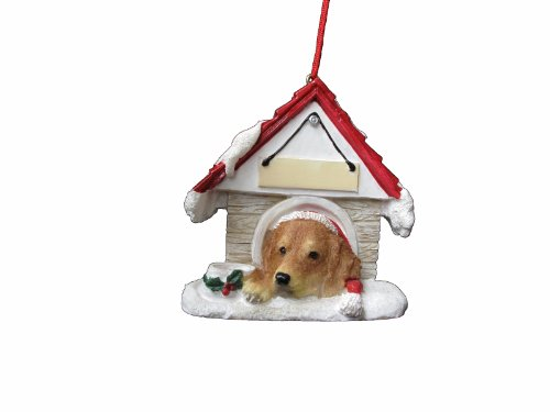 Golden Retriever Ornament A Great Gift For Golden Retriever Owners Hand Painted and Easily Personalized