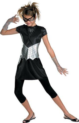 Black-Suited Spider-Girl Teen/Junior Costume - Medium