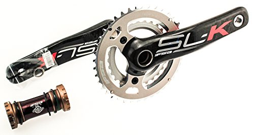 FSA SL-K MEGAEXO M10 170mm 28/40t Carbon Crankset W/ BB Mountain Mtb by FSA