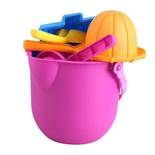 6PCS Kids Beach Toys Set Molds Tools Sandbox Toys On Summer Beach Holiday