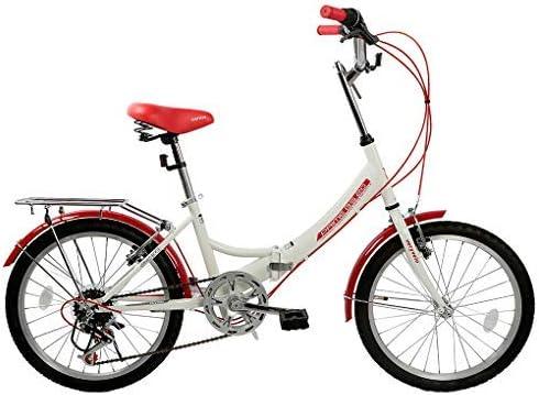 ZOYO Bicicletas Plegables de 20 Pulgadas para Adultos, 7 ...