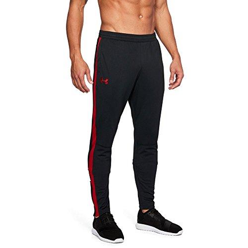 Under Armour Men's Sportstyle Pique Pants, Black (001)/White, Large