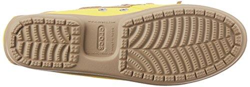 Crocs Damen Wrap ColorLite Loafer Sonnenschein / Tumbleweed