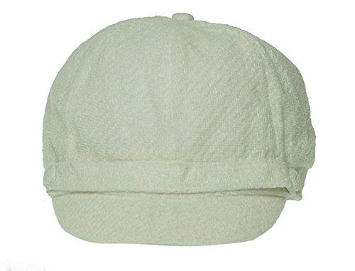 Charter Club Women's Solid Newsboy Hat Ivory