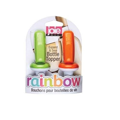 Joie Msc 12916 Rainbow Expand & Seal Bottle Toppers, Assorted