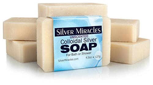 Colloidal Silver Soap - 6 pack