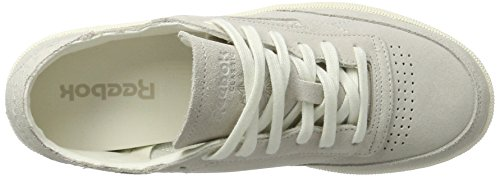 Reebok Damen Club C 85 Fbt Decon Sneaker Grau (Chalk/Snowy Grey)