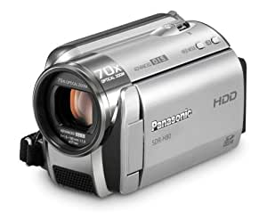 Panasonic SDR-H80-S SD and HDD Camcorder (Silver) (Discontinued by Manufacturer)