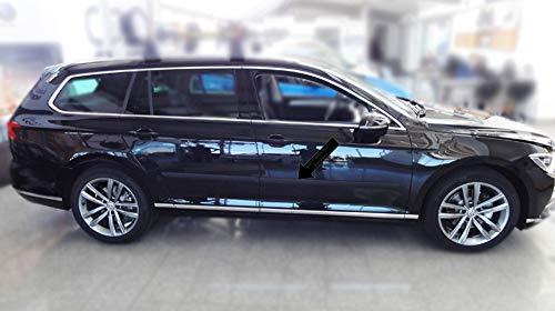 Spangenberg Listones de protección Lateral, Color Negro, para Volkswagen Passat B8 Variant Tipo 3G5 Combi a Partir de año de construcción 11.2014 - F46 ...