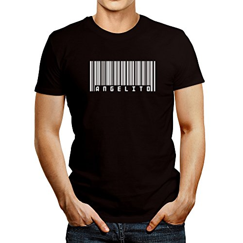 Idakoos BAR CODE Angelito - Male Names - T-Shirt