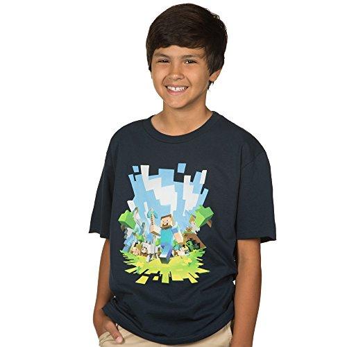 Minecraft Adventure Youth Short Sleeve T-Shirt