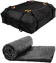 Tyjie Bolsa de teto de carro impermeável, material de grau militar, bolsa de armazenamento resistente à prova