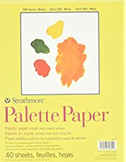 Strathmore 365900 41-Pound 40-Sheet Stratchmore Palette Paper Pad, 9 by 12-Inch