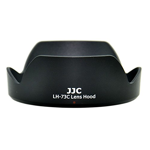 JW LH-73C Lens Hood Shade For Canon EF-S 10-18mm f/4.5-5.6 IS STM Lens Replaces EW-73C + JW emall Micro Fiber Cleaning Cloth