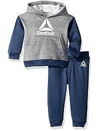 Reebok - Sudadera con Capucha y pantalón para bebé