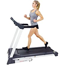 Sunny Health & Fitness SF-T7515 Smart Treadmill with Auto Incline, Bluetooth and BMI Calculator