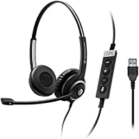 Sennheiser 506481 CIRCLE SC 260 USB CTRL II Professional Wired Dual-Sided Headset
