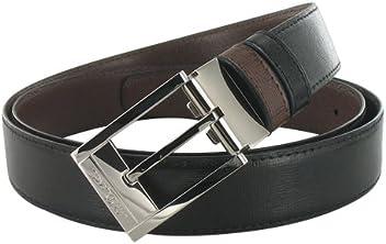 S.T. Black Leather Dupont Belts 8152020