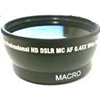 Wide Lens for Sony HDR-CX105, Sony HDR-CX105E, Sony HDRCX105, Sony DCRSR55E