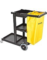 Alpine Industries Housekeeping Cart