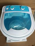 xlpace Washing Machine Semi-Automatic Single-Barrel Washer 4KG Top Open Type 2-in-1 Washing Machine with Separate Timer Control