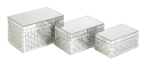 imax-96110-3-mandiline-mirror-mosaic-boxes-set-of-3