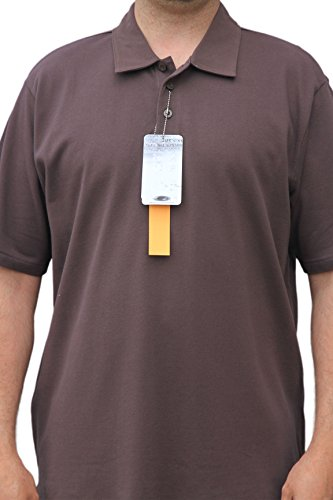 Oakley Golf Polo Shirt Classic Solid Colors (Brown, - Oakley Outlet Apparel