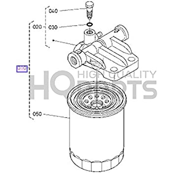 Kubotum Fuel Filter