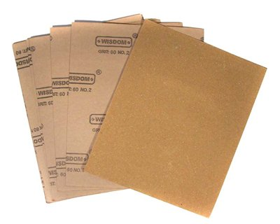 Wisdom 12pc Sand Paper Set, 24-SP12-1