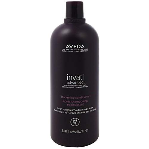 AVEDA Invati ADVANCED Thickening Conditioner (NEW FORMULA) BB Salon Product Liter 33.8oz