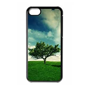 Summer Landscape iPhone 5c Cell Phone Case Black Exquisite gift (SA_715280)