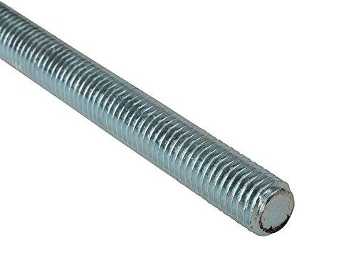 ForgeFix ROD16 Corrosion Resistant Threaded Rod Zinc Plated M16 x 1m Box 1 by Forgefix (Image #1)