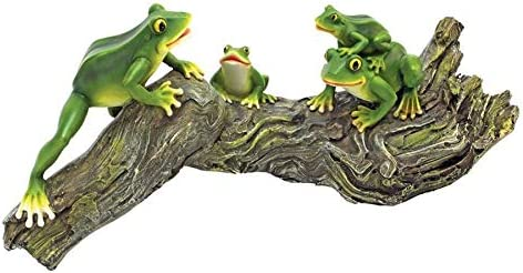 Design Toscano Froggy Business Garden Statue